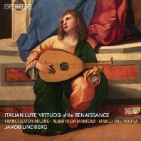 ITALIAN LUTE VIRTUOSI OF THE RENAISSANCE/ JAKOB LINDBERG [SACD HYBRID] [이탈리아 르네상스 황금기의 류트 연주자들 - 야콥 린드베리]