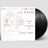 SIX SUITES FOR UNACCOMPANIED CELLO/ JEAN-MAX CLEMENT [ANALOGPHONIC 180G LP] [바흐: 6개의 무반주 첼로 모음곡 - [장-막스 클레망] [한정반]