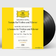 SONATAS FOR VIOLIN AND PIANO/ MAX ROSTAL, MONIQUE HAAS [ANALOGPHONIC 180G LP] [라벨 & 미할로비치: 바이올린 소나타 - 막스 로스탈] [한정반]