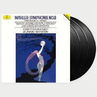 SYMPHONY NO 8 & 10/ LEONARD BERNSTEIN [ANALOGPHONIC 180G LP] [말러: 교향곡 8 & 10번 <아다지오> - 번스타인] [한정반]