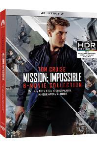 미션 임파서블 1-6 콜렉션 [4K UHD] [한정판] [MISSION: IMPOSSIBLE 6 MOVIE COLLECTION]