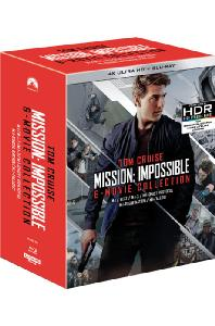 미션 임파서블 1-6 콜렉션 [4K UHD+BD] [한정판] [MISSION: IMPOSSIBLE 6 MOVIE COLLECTION]
