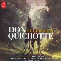 DON QUICHOTTE/ ANNE GAURIER, GILLES COLLIARD [텔레만: 돈키호테 모음곡 - 질 콜리아르]