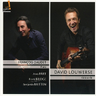 CELLO AND PIANO WORKS/ FRANCOIS DAUDET, DAVID LOUWERSE [패르트, 브릿지, 브리튼: 첼로 소나타]