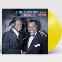 LOUIS ARMSTRONG MEETS OSCAR PETERSON [180G CLEAR YELLOW LP]