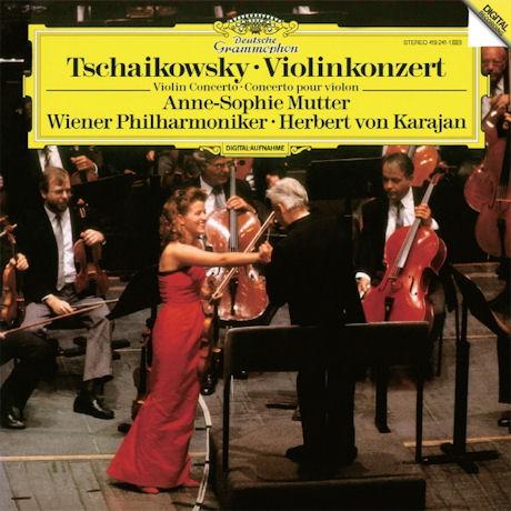 VIOLIN CONCERTOS/ ANNE-SOPHIE MUTTER, HERBERT VON KARAJAN [차이코프스키: 바이올린 협주곡 - 무터, 카라얀]