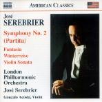 SYMPHONY NO.2 (PARTITA)/ JOSE SEREBRIER