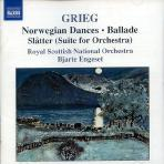 NORWEGIAN DANCES/ SUITE FOR ORCHESTRA/ BJARTE ENGESET