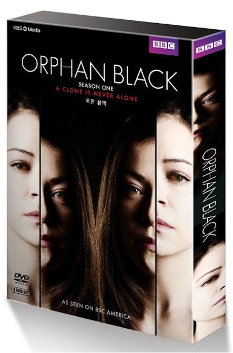 오펀 블랙 시즌 1 [ORPHAN BLACK SEASON ONE] / [?3disc/아웃케이스 포함]