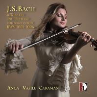 6 SONATAS & PARTITAS FOR SOLO VIOLIN/ VASILE ANCA CARAMAN [바흐: 무반주 바이올린을 위한 소나타와 파르티타 - 안카 바실레 카라만]