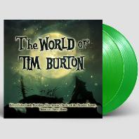THE WORLD OF TIM BURTON [팀 버튼 영화음악 테마 모음집] [CLEAR GREEN LP]