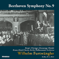 "SYMPHONY NO.9/ WILHELM FURTWANGLER [UHQCD] [베토벤: 교향곡 9번 ""합창"" - 푸르트뱅글러]"