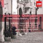 KARL GOLDMARK/ ERNST VON DOHNANYI - ORCHESTRAL MUSIC/ ANDRE PREVIN/ JAMES CONLON