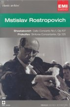 CELLO CONCERTO ETC/ MSTISLAV ROSTROPOVICH