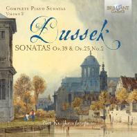 듀섹: 피아노 소나타 OP. 39, OP. 25 NO. 2