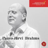 SYMPHONY NO.1 & HAYDN VARIATION/ PAAVO JARVI [브람스: 교향곡 1번 & 하이든 변주곡 - 파보 예르비]