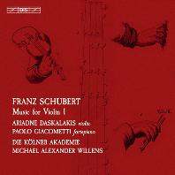 MUSIC FOR VIOLIN 1/ ARIADNE DASKALAKIS [SACD HYBRID] [슈베르트: 바이올린을 위한 작품 1집 - 아리아드네 다스칼라키스]