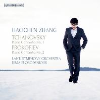 PIANO CONCERTOS/ HAOCHEN ZHANG, DIMA SLOBODENIOUK [SACD HYBRID] [차이코프스키 & 프로코피에프: 피아노 협주곡 - 하오첸 창]