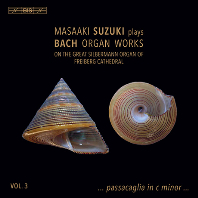 ORGAN WORKS VOL.3/ MASAAKI SUZUKI [SACD HYBRID] [바흐: 오르간 작품 3집 - 스즈키 마사아키]