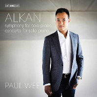 SYMPHONY FOR SOLO PIANO, CONCERTO FOR SOLO PIANO/ PAUL WEE [SACD HYBRID] [알캉: 독주 피아노 교향곡, 독주 피아노 협주곡 - 폴 웨]