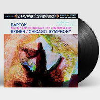 MUSIC FOR STRINGS, PERCUSSION AND CELESTA & HUNGARIAN SKETCHES/ FRITZ REINER [바르톡: 현과 타악기와 첼레스타를 위한 음악, 헝가리안 스케치 - 라이너] [200G LP]