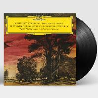 """SYMPHONY NO.8 """"UNFINISHED"""" & OVERTURES/ HERBERT VON KARAJAN [슈베르트: 미완성 교향곡 & 베토벤: 서곡 - 카라얀] [180G LP]"""