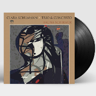 TRIO & CONCERTO/ RAGNA SCHIRMER, ARIANE MATIAKH [클라라 슈만: 피아노 협주곡, 트리오 - 라냐 시르머] [180G LP]
