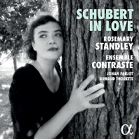 SCHUBERT IN LOVE/ ROSEMARY STANDLEY, SANDRINE PIAU [슈베르트 인 러브: 로즈메리 스탠들리, 앙상블 콩트라스트]