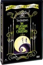 크리스마스의 악몽 [THE NIGHTMARE BEFORE CHRISTMAS]  - 정가 24000원의, 아웃케이스 있는 초회 한정판. 팀 버튼의 초기 영화 수록