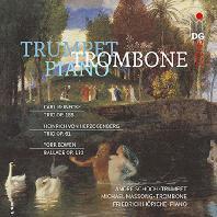 TRIOS/ ANDRE SCHOCH, MICHAEL MASSONG, FRIEDRICH HORICKE [라이네케, 헤르초겐베르크, 보웬: 트럼펫과 트롬본, 피아노를 위한 삼중주]