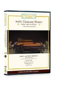임페리얼 골드 클래식 6: 두 대의 피아노를 위한 20세기 음악 [20 CENTURY MUSIC FOR TWO PIANOS/ JOSEPH & ANTHONY PARATORE]