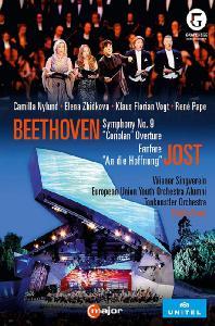 BEETHOVEN: SYMPHONY NO.9, CORIOLAN OVERTURE & JOST: FANFARE & AN DIE HOFFNUNG/ YUTAKA SADO [2016 그레페넥 페스티벌 10주년 기념 공연: 베토벤 & 요스트] [한글자막]