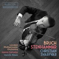 VIOLIN CONCERTO NO.1 & VIOLIN SONATA OP.19/ CHRISTIAN SVARFVAR, JOANA CARNEIRO [브루흐: 바이올린 협주곡 1번 & 스텐함마르: 바이올린 소나타]