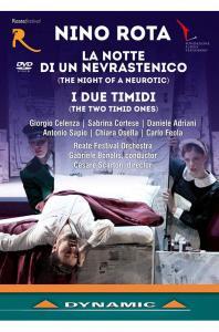 LA NOTTE DI UN NEVRASTENICO & I DUE TIMIDI/ GABRIELE BONOLIS [니노 로타: 오페라 <잠 못 이루는 밤><어리숙한 두 사람>] [한글자막]