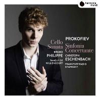 SINFONIA CONCERTANTE & CELLO SONATA/ BRUNO PHILIPPE, CHRISTOPH ESCHENBACH [프로코피에프: 첼로와 오케스트라를 위한 신포니아 콘체르탄테, 첼로 소나타 - 브루노 필립, 에센바흐]