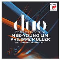 DUO WORKS FOR TWO CELLOS/ HEE-YOUNG LIM, PHILIPPE MULLER [글리에르, 오펜바흐, 바리에르, 포퍼: 첼로 듀오 - 임희영, 필립 뮐러]