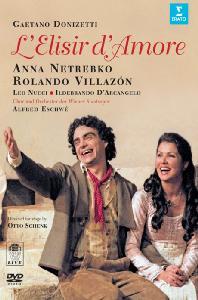 L`ELISIR D`AMORE/ ANNA NETREBKO, <!HS>ROLANDO<!HE> VILLAZON, ALFRED ESCHWE [도니제티: 사랑의 묘약]