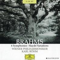 4 Symphonies & Haydn Vatiations/ Karl Bohm 미개봉 유럽수입 신품