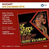 DIE ZAUBERFLOTE/ HERBERT VON KARAJAN [THE HOME OF OPERA] [모차르트: 마술피리]