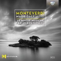 MADRIGALI LIBRI 1&2/ LE NUOVE MUSICHE, KRIJN KOETSVELD [몬테베르디: 마드리갈곡집 1, 2권]