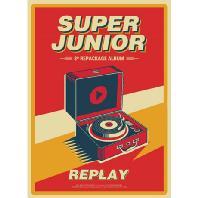 SUPERJUNIOR(슈퍼주니어) - REPLAY [정규 8집] [리패키지]