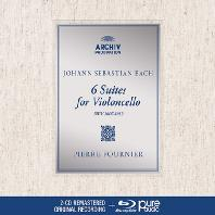 6 SUIT FOR VIOLONCELLO/ PIERRE FOURNIER [2CD+BDA] [바흐: 무반주 첼로 모음곡 전곡 - 피에르 푸르니에] [디지팩 한정반]