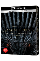 왕좌의 게임 시즌 8 [4K UHD+BD] [아웃박스 라인룩 한정판] [GAME OF THRONES: THE COMPLETE EIGHTH SEASON]