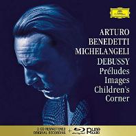 PIANO WORKS/ ARTURO BENEDETTI MICHELANGELI [2CD+BDA] [드뷔시: 전주곡, 영상, 어린이 차지 - 미켈란젤리]