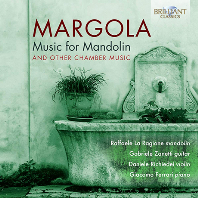 MUSIC FOR MANDOLIN AND OTHER CHAMBER MUSIC/ RAFFAELE LA RAGIONE [마르골라: 만돌린을 위한 음악 - 라파엘라 라 라지오네]