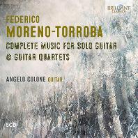 COMPLETE MUSIC FOR SOLO GUITAR & QUARTETS/ ANGELO COLONE [모레노-토로바: 기타 독주곡 모음집 - 안젤로 콜론]