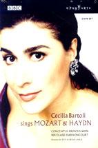 CECILIA <!HS>BARTOLI<!HE> SINGS MOZART & HAYDN