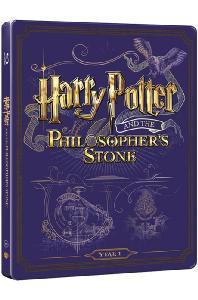 해리포터와 마법사의 돌 [BD+DVD] [스틸북 한정판] [HARRY POTTER AND THE PHILOSOPHER'S STONE]