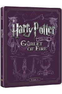 해리포터와 불의 잔 [BD+DVD] [스틸북 한정판] [HARRY POTTER AND THE GOBLET OF FIRE]