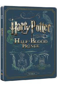 해리포터와 혼혈왕자 [BD+DVD] [스틸북 한정판] [HARRY POTTER AND THE HALF-BLOOD PRINCE]